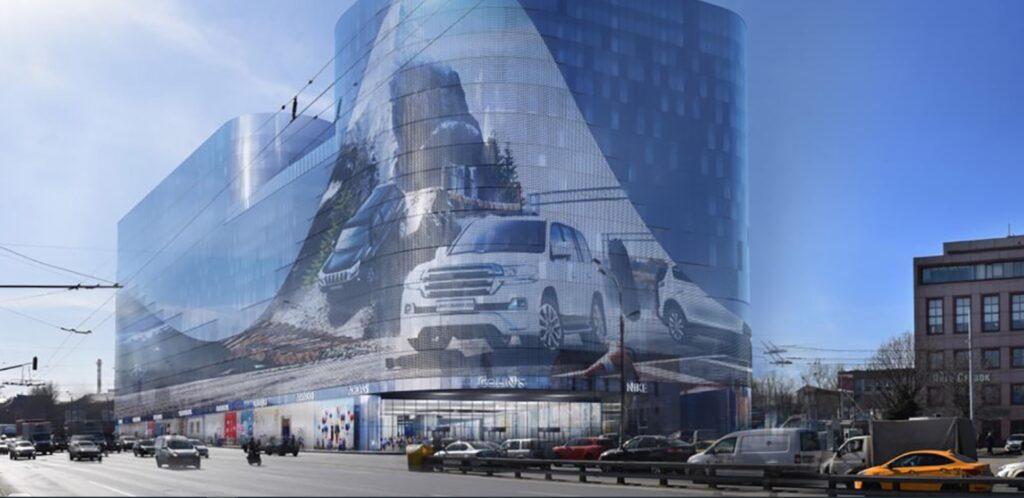 новый торговый центр Нагатинская